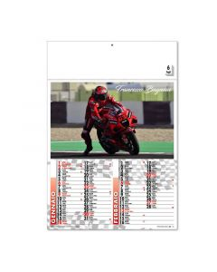 MOTO GP - calendriers bimensuels moto GP