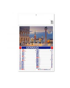 MADE IN ITALY - calendrier des villes italiennes