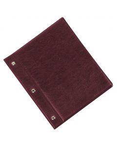 MENU CLASSIC M - porte-menu de taille moyenne en simili-cuir