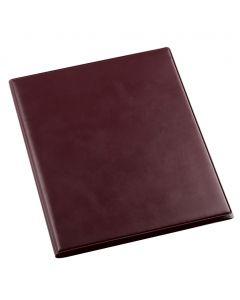 MENU ELEGANT M - protège-menu en simili-cuir d'aspect lisse de taille moyenne