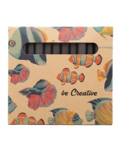 CRAXON 12 ECO - set de 12 crayons de couleurs personnalisés