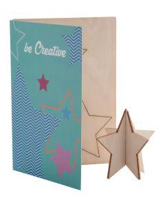 CREAX - Carte de Noël, étoile