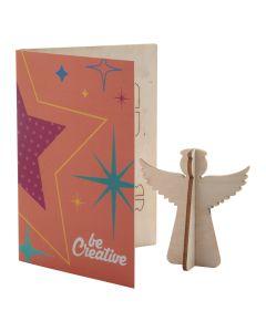 CREAX - Carte de Noël, ange