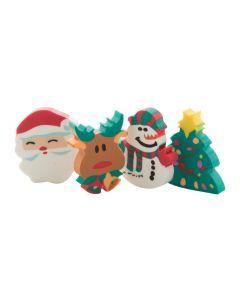 FLOP - Set de gommes décor Noël