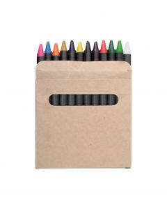LOLA - set de 12 pastels de couleurs