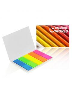 BOOKMARKS - Ensemble de marqueurs colorés
