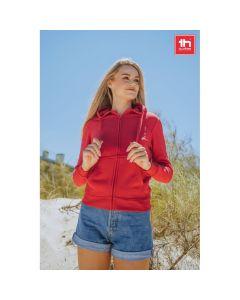 THC AMSTERDAM WOMEN - Sweat-shirt pour femme, avec fermeture zippée et capuche
