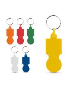 SULLIVAN - Porte-clés avec monnaie pour chariot de supermarché